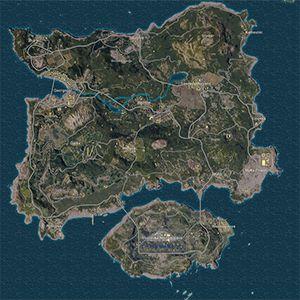 Erangel Minimap